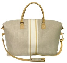 BL105BG - Buckhead Gold Duffle Bag <br> Available in March