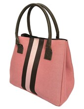 BL625BP - Bermuda Pink tote <br> Available in March