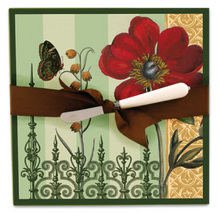 CB257 - <strong>Botanical Cheese Plate Server</strong><br>SPECIAL PRICE!