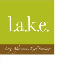 CN127 - <strong>l.a.k.e.</strong><br>(Lazy Afternoons, Kool Evenings) Paper Beverage Napkins<br> Temporarily out of stock