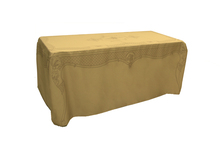 DU120 - 6' Table 'Dress-up' French pattern, Sepia