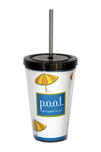 DW126 - <strong>p.o.o.l. Double Walled Tumbler</strong>