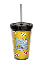 DW604 - <strong>Bama Born<br> Double Walled Tumbler</strong>