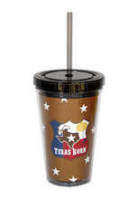 DW605 - <strong>Texas Born<br>Double Walled Tumbler</strong>