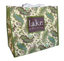 GG127 - <strong>l.a.k.e.</strong>(Lazy Afternoons, Kool Evenings)<br>Greenie Mega Shopper - On Sale!