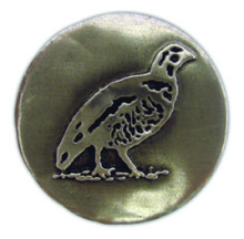 PA105 - Pewter-A-Peel Quail, carded
