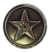 PA106 - Pewter-A-Peel Star, carded