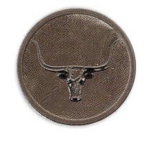 PA108 - Pewter-A-Peel Longhorn, carded