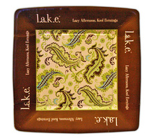 PP127 - <strong>l.a.k.e. Square Paper Plate</strong>