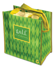PT136 - <strong>g.o.l.f.<br>(Game Of Lifelong Frustration)</strong><br>Greenie Party To Go Tote<strong>- SPECIAL PRICE!</strong>