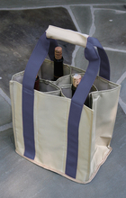 PT809 - Party To Go Tote<br>Slate Blue/Tan