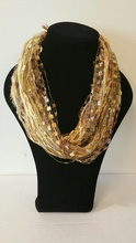 WW02GL - Whispers Wow Double Infinity - One of a kind - Gold tones
