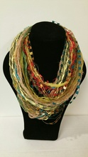WW02MT - Whispers Wow Double Infinity - One of a kind - Green Multi color tones