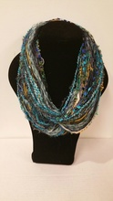 WW02TQ - Whispers Wow Double Infinity - One of a kind - Turquoise tones